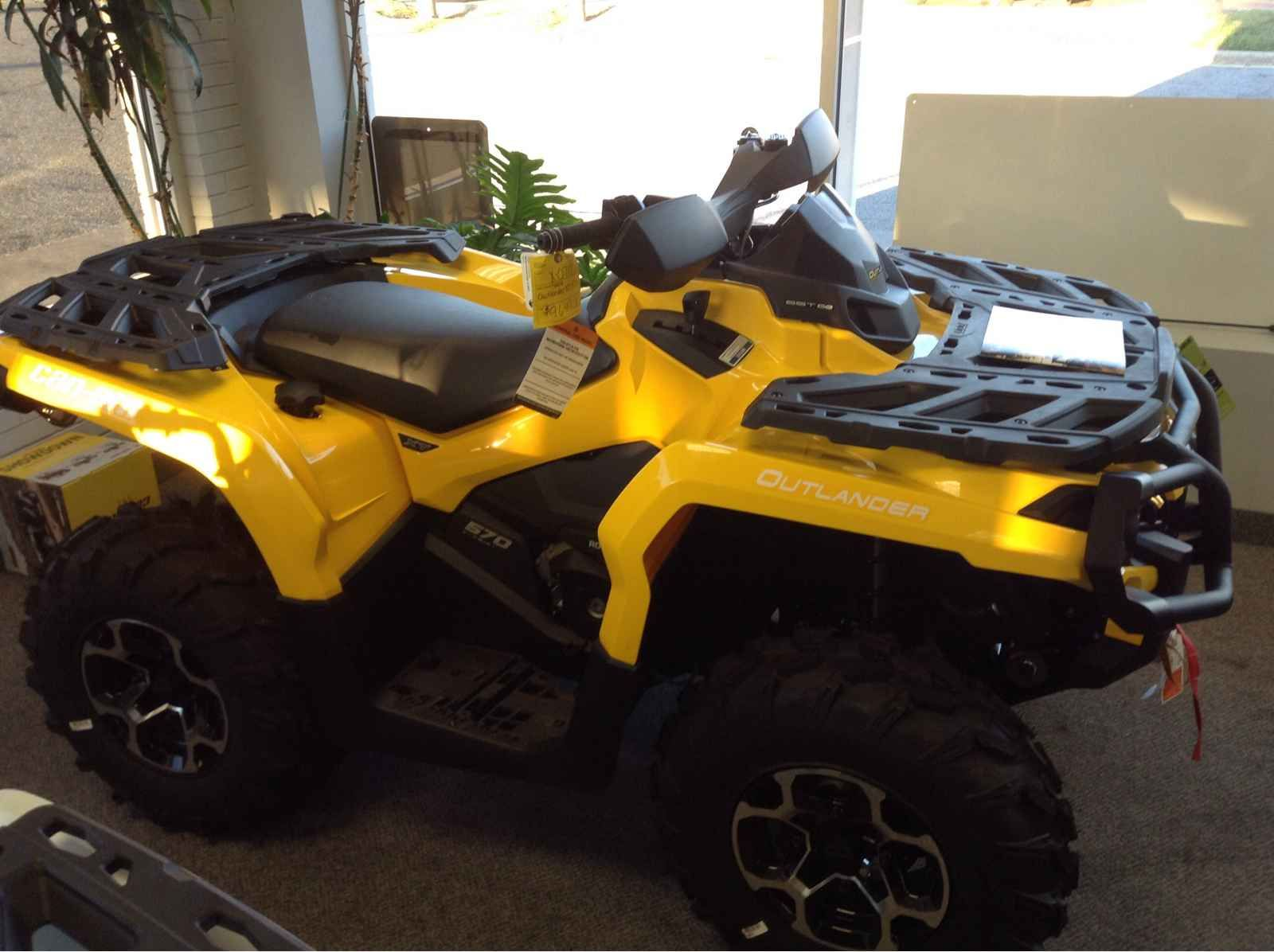 New 2016 CanAm Outlander XT 570 ATVs For Sale in North