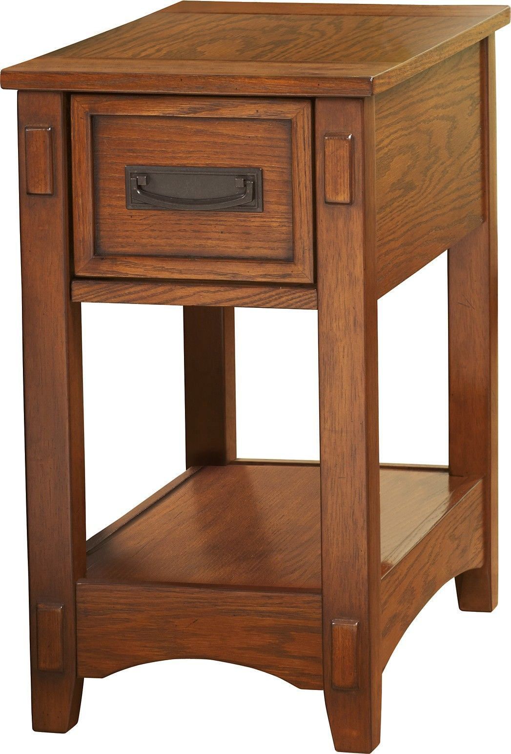 Ashley Breegin T007 319 Signature Design Chair Side End Table This Chairside End Table Made Of Engineered Wood V Ashley Furniture End Tables Brown Wood Chair
