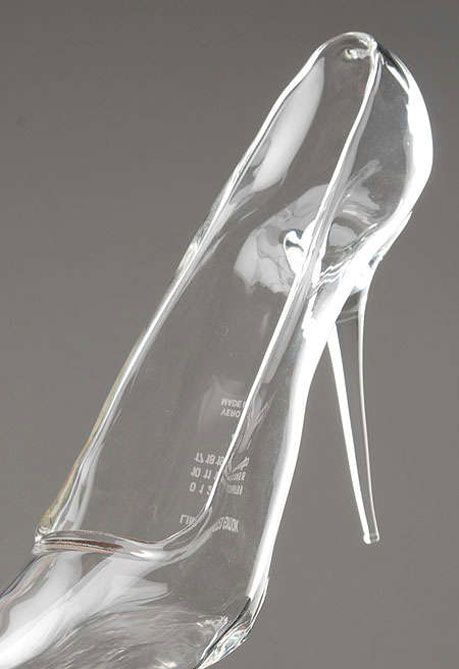 Margiela Glass Slipper--not to wear but I would totally put this ...
