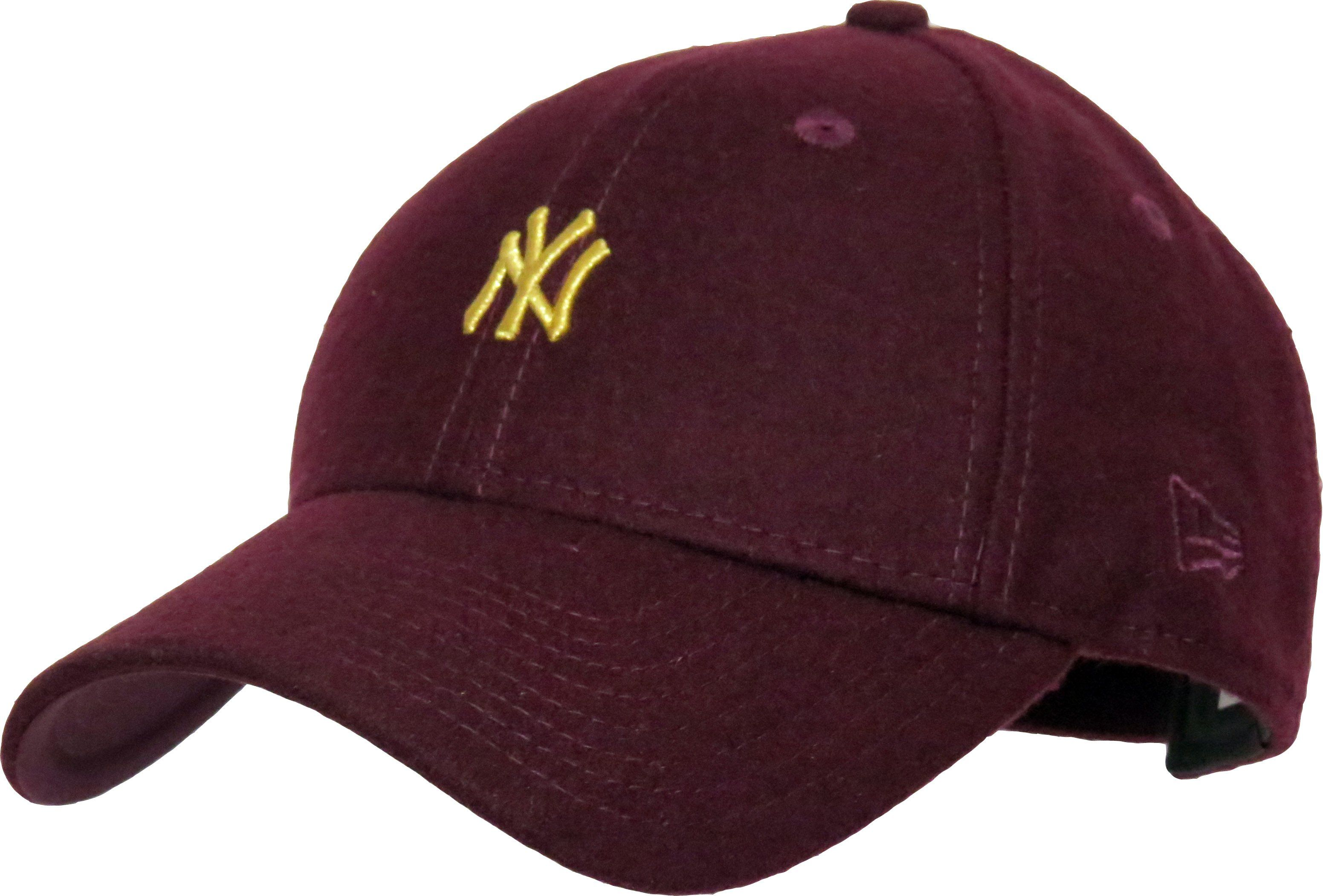 cf3efb4fa4c New Era 9Forty Womens Melton Wool Baseball Cap. Maroon coloured ...