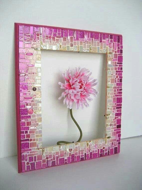 Pin de Alicia en Muebles | Pinterest | Mosaicos, Espejo y Cuadro