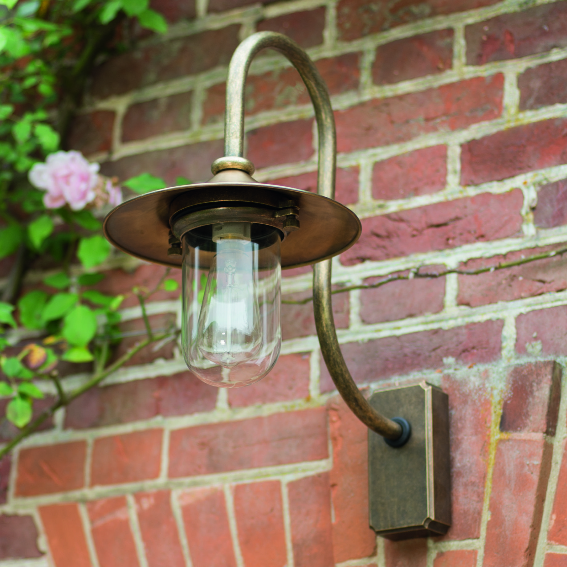 A striking outdoor light handmade in solid brass our granary a striking outdoor light handmade in solid brass our granary wall mozeypictures Image collections