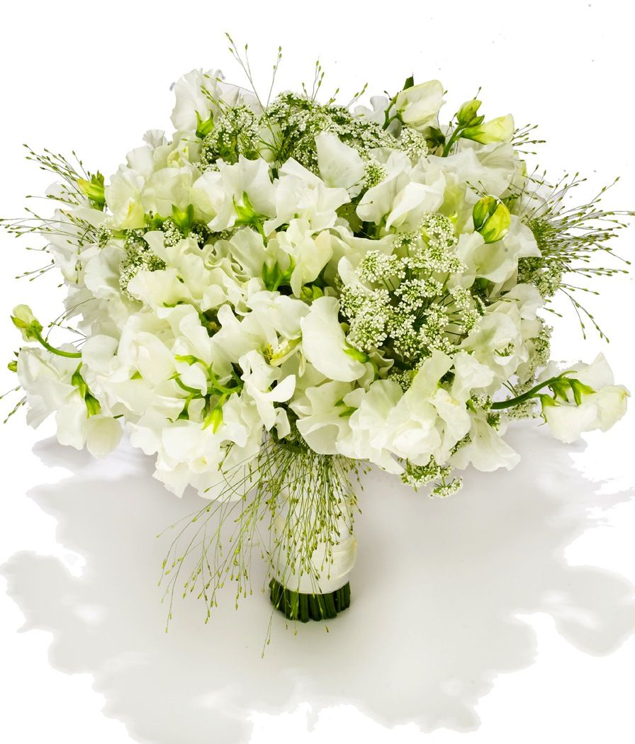 Beach Wedding Flower Ideas: Beach Wedding Flowers White Green