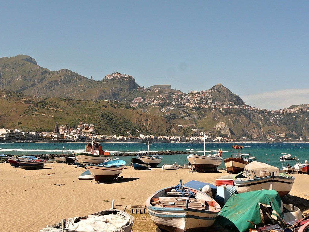 GiardiniNaxos, Messina, Sicily beaches Best beaches in