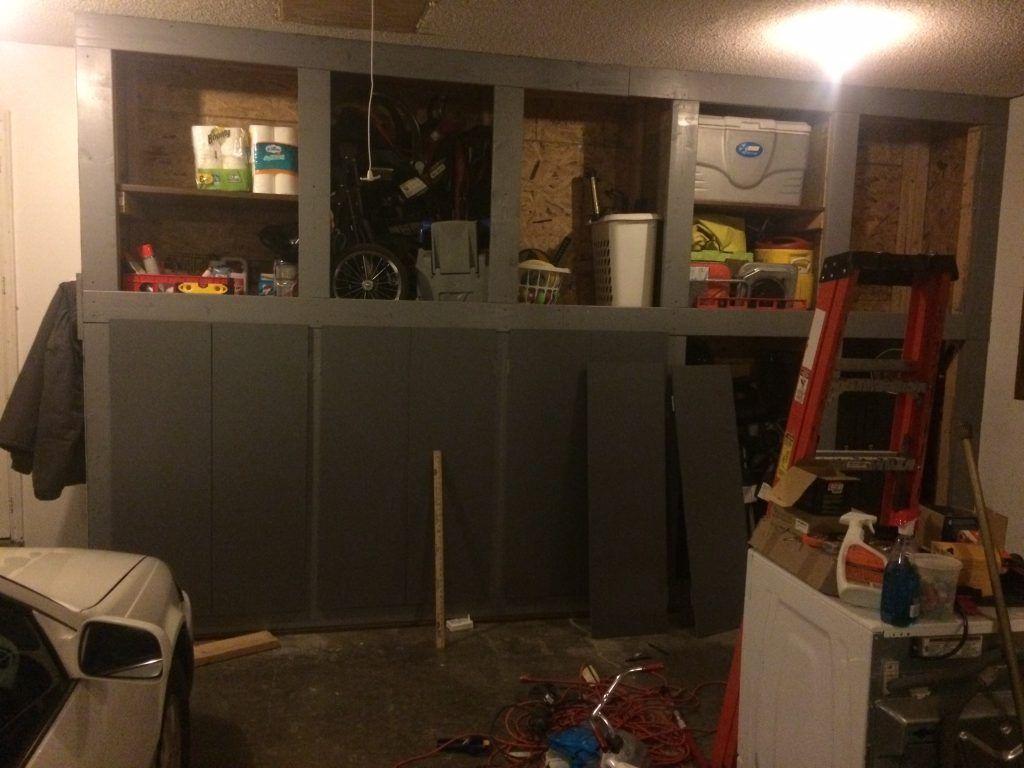 Diy garage storage cabinets pinterest garage storage garage
