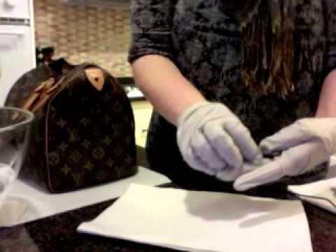 8789bdcf1aad Louis Vuitton Speedy 30 Restoration Part II - Cleaning Vachetta Leather and  Brass Lock