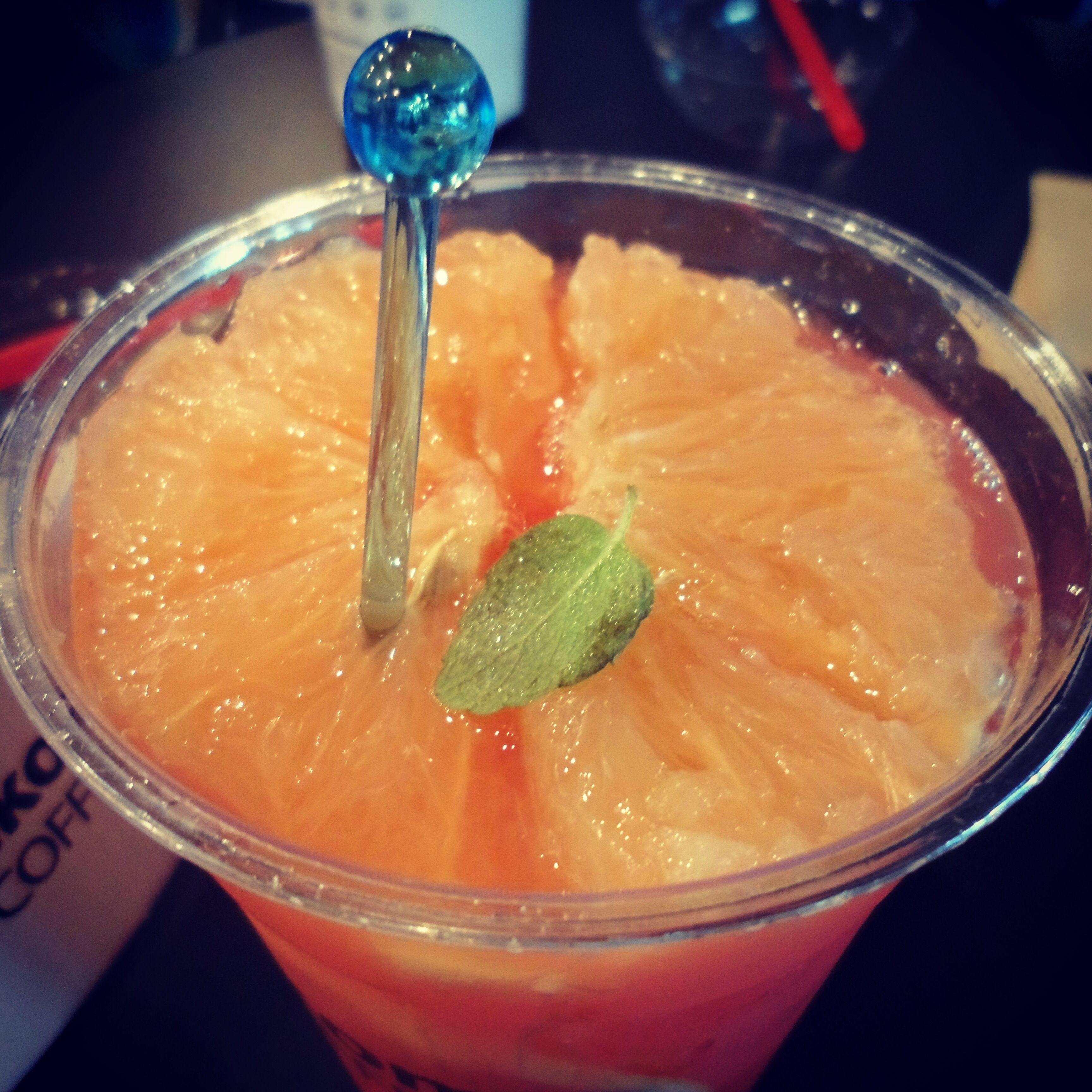 #자몽 #에이드 #달콤 #카페 #Grapefruit #aid #ice #dalkom #cafe