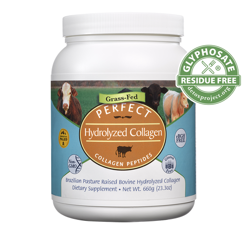 Perfect Hydrolyzed Collagen 100 Hydrolyzed Collagen Sourced From Brazilian Pasture Raised Grass Fed Cows Grass Fed Cows Hydrolyzed Collagen Collagen