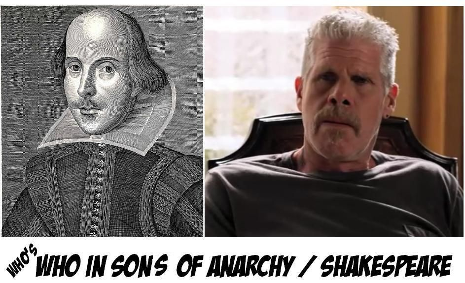 Who S Who In Sons Of Anarchy And Shakespeare And A Gratuitous Whedon Easter Egg Sons Of Anarchy Anarchy Sons
