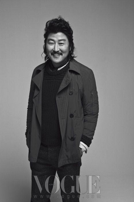 Song Kang-ho // Vogue Korea // February 2013