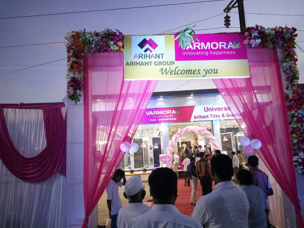 The never ending saga of success bloomed! our reach is further expanded with 3 new show rooms within a month itself. #VarmoraUniverse #VarmoraGranito #Celebration #NewOpening