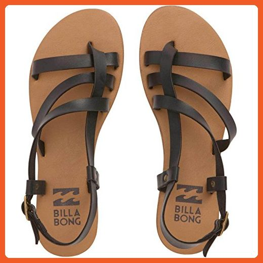 efaf335a7 Billabong Women s Tan Linez Toe Ring Sandal