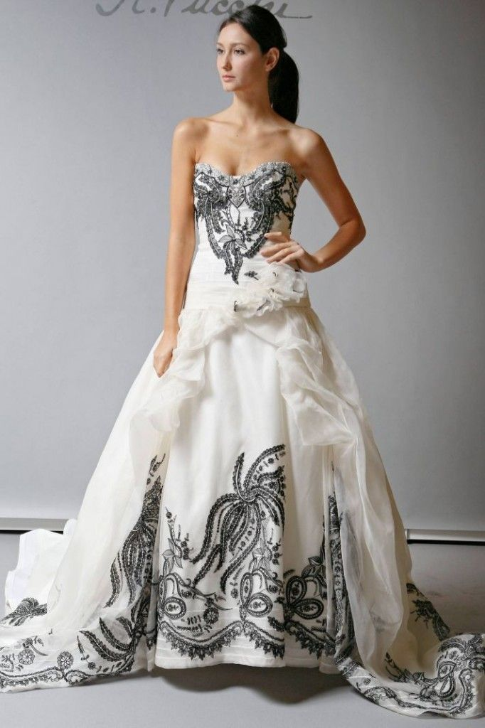 Black and White Wedding Ideas - | Dress Trends & Ideas | Pinterest ...