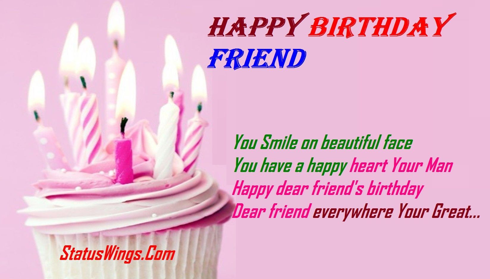 Happy Birthday Wishes for Best Friend Quotes Shayari