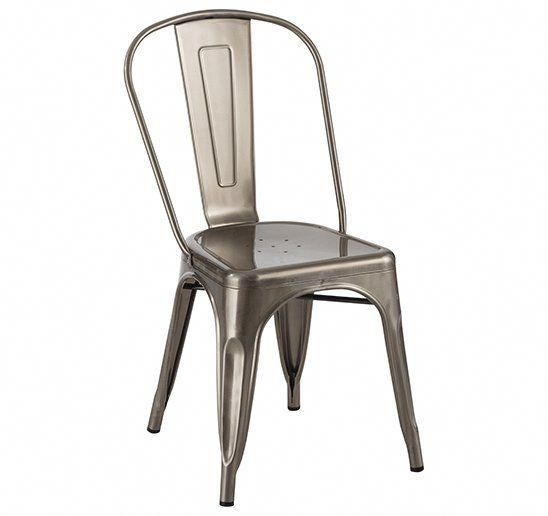 Industrial Side Chair #cheapdiningchairs Wooden Dining Chairs