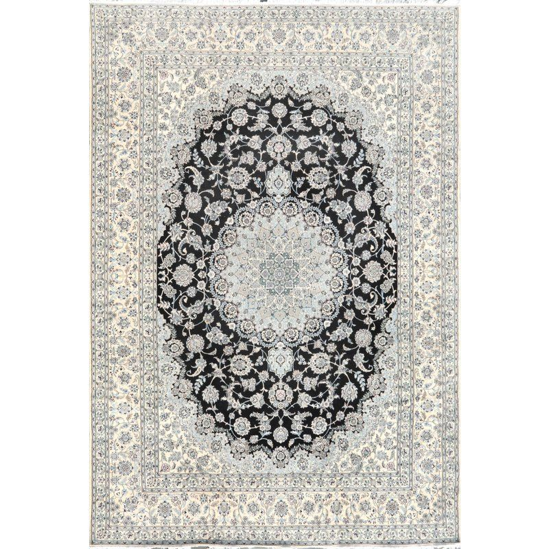 Pasargad Home Nain Collection Area Rug 9 11 X 13 1 Nain