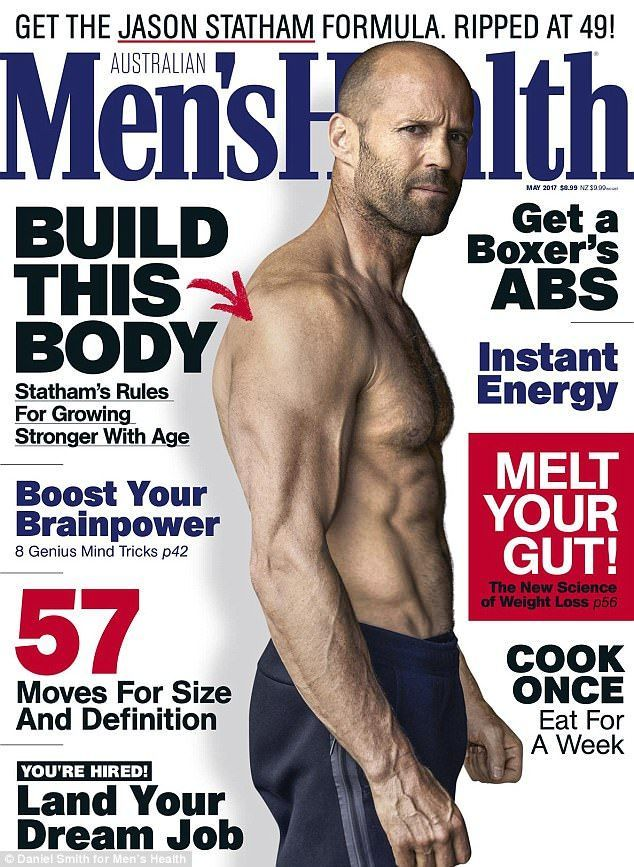 Jason Statham reveals how he keeps so ripped at 49 years