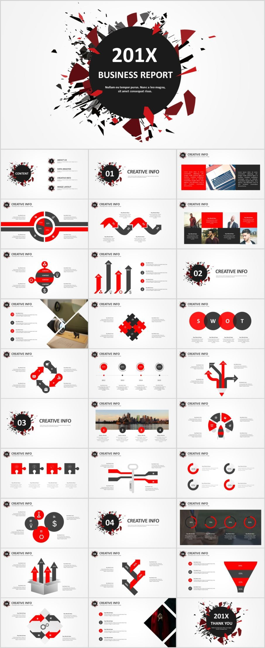 31 Best red black business Design PowerPoint templatesThe highest quality PowerPoint Templates and Keynote Templates download
