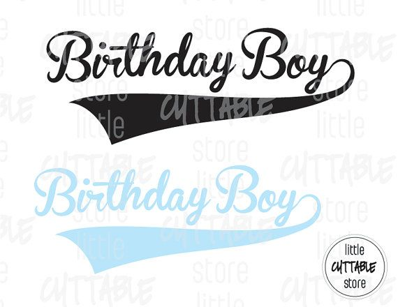 Birthday Girl  Cuttable Design File SVG EPS JPG by LittleCuttable
