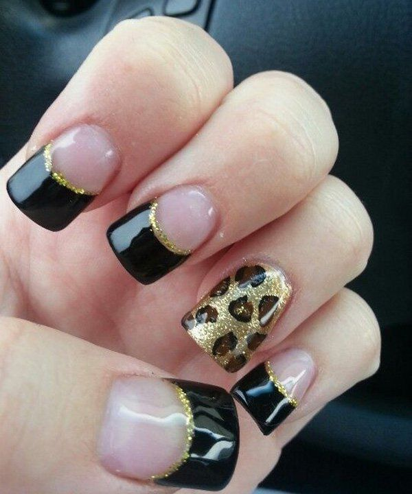 50 Cheetah Nail Designs Nail Art Pinterest Cheetah Nail Art