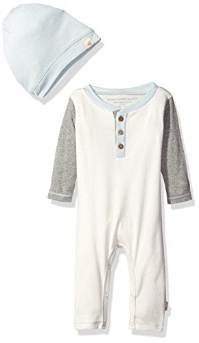 Burts Bees Baby Clothes Prepossessing Burt's Bees Baby Boys' Organic Henley Coverall Slouchy Https Decorating Inspiration