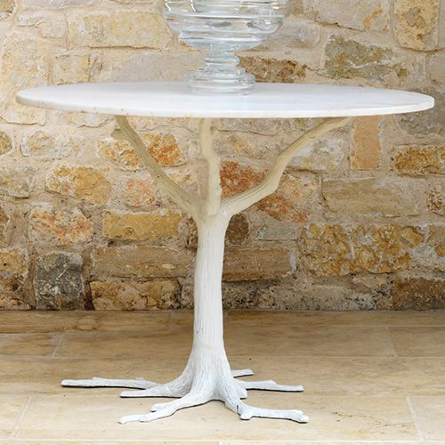 White Faux Bois Dining Table Faux Bois Dining Table Eclectic