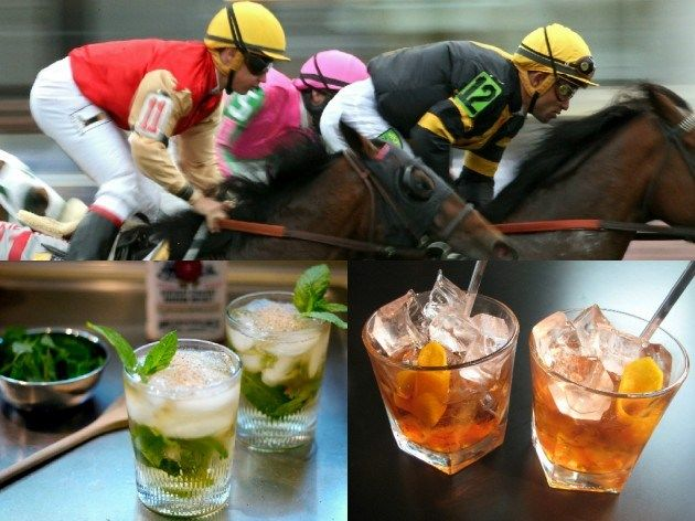 Triple Crown Official Drinks - the Mint Julep, Black-Eyed Susan & Belmont Breeze