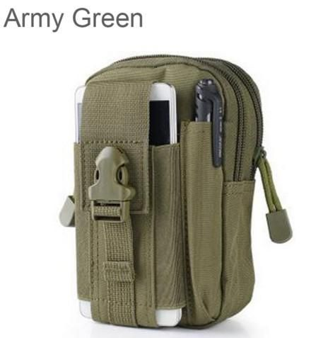 Fanny Phone Pouch Belt Bag Phone Case OutdoorTactical Molle Waist Pack Utility