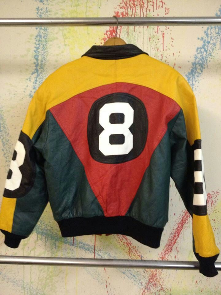 new arrivals 581e8 171e3 91 8 Ball jackets 80s And 90s Fashion, Old School Fashion, Old School Toys