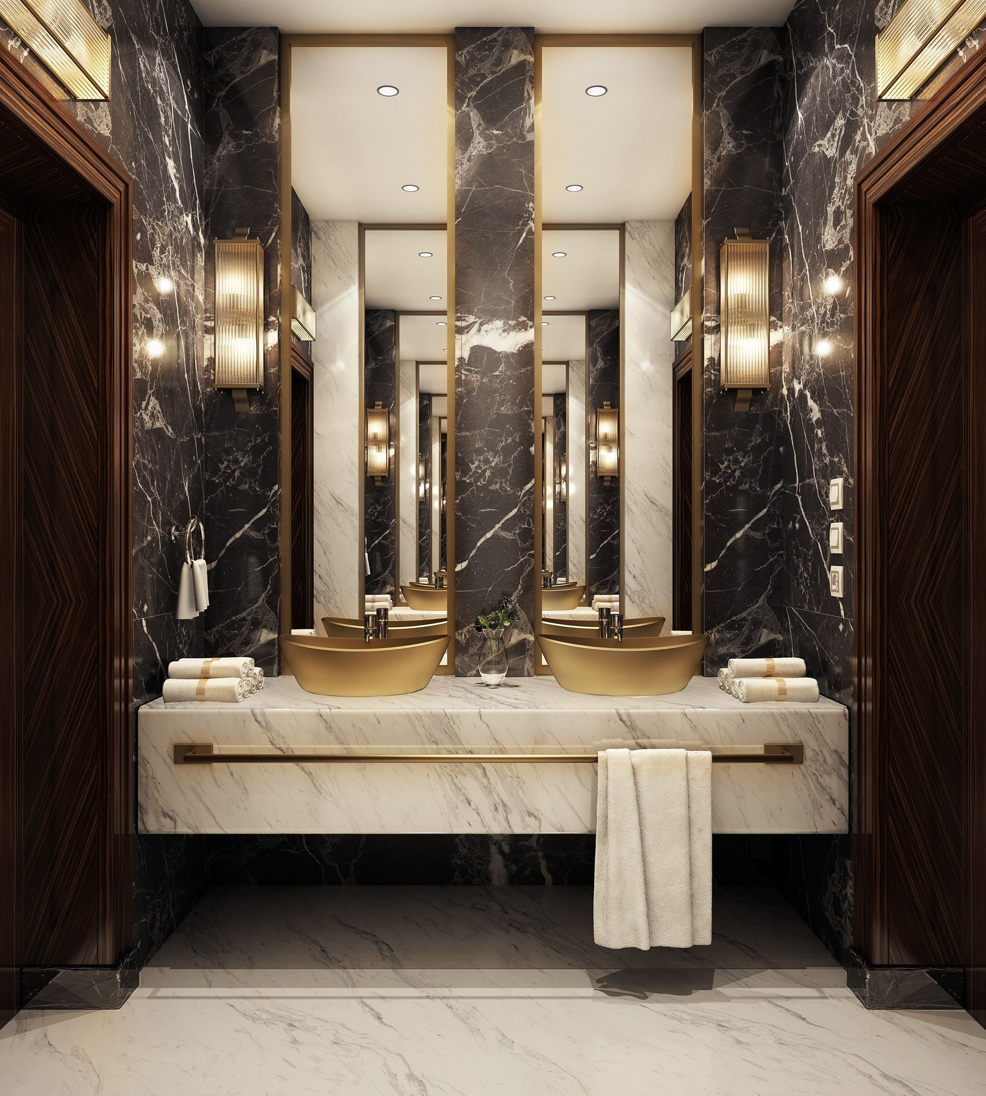 Find Out The Best Luxury Bathroom Lighting Design Selection For Your Next Interior D Modern Luxury Bathroom Bathroom Design Luxury Luxury Bathroom Master Baths
