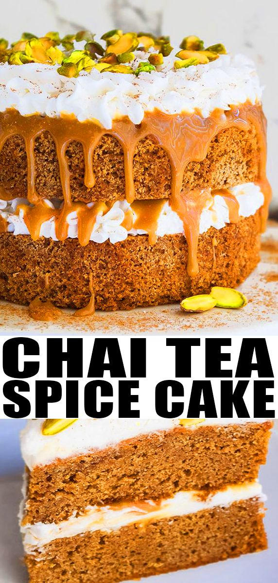 Chai Tea Spice Cake-Soft and Moist images