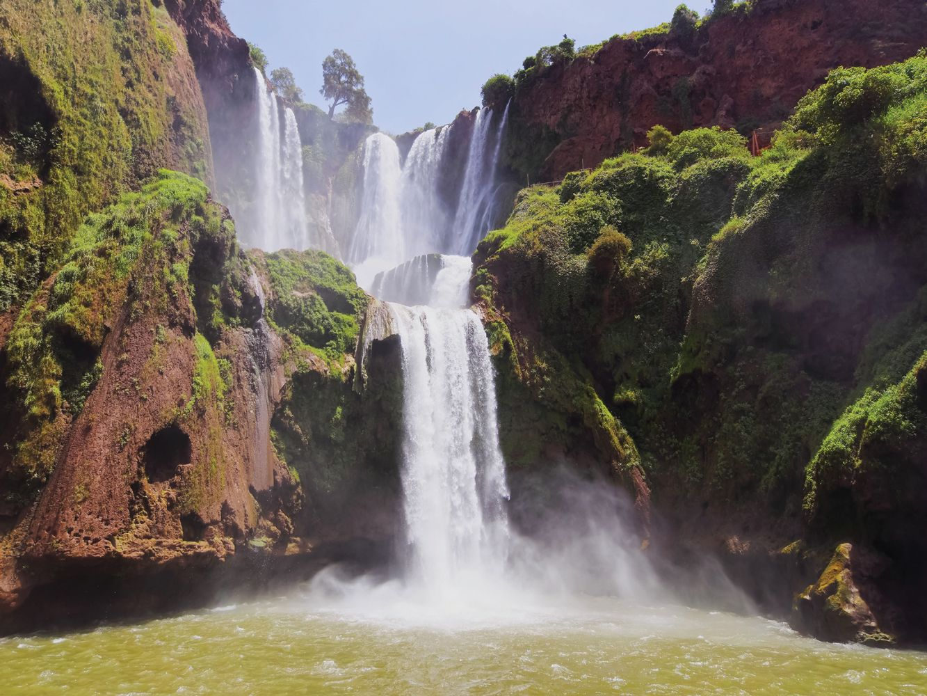 Walk into the heart of the High Atlas and to Ouzoud waterfalls with HF Holidays on their Morocco Atlas to the Atlantic holiday #Travel #HighAtlas