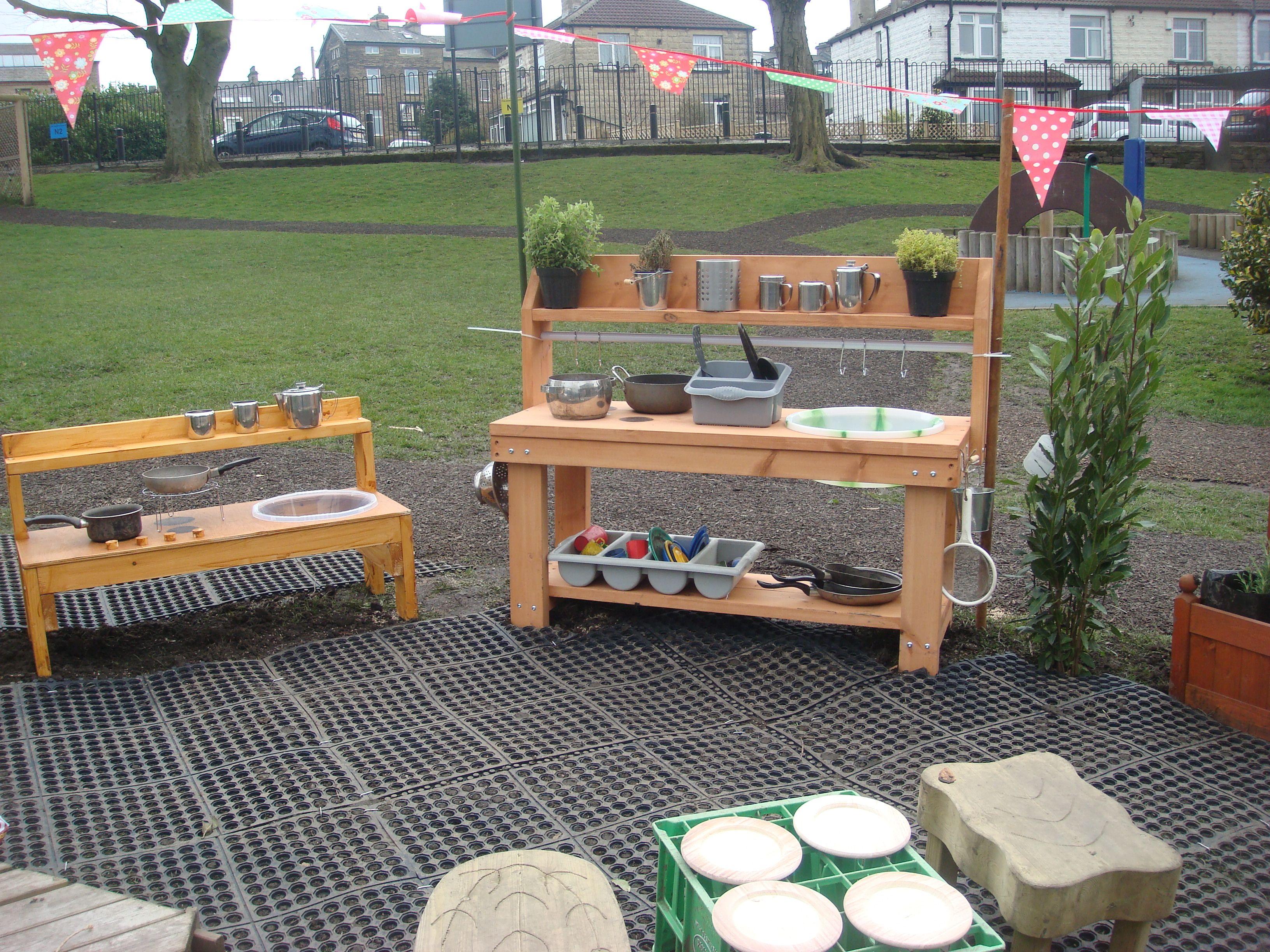 Mud kitchen upcycled pallet mud kitchen pallet kitchen counter with - Mud Kitchen For Kids Our Mud Kitchen