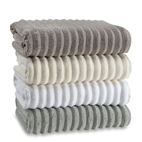 Charisma Bath Towels Classy Turkish Ribbed Bath Towels 100% Cotton  Bed Bath & Beyond  Bath Design Ideas