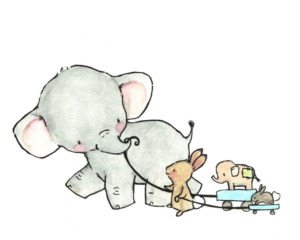 chloelagenour   Aquarell Tiere   Pinterest   Zeichnen, Babyzimmer ...