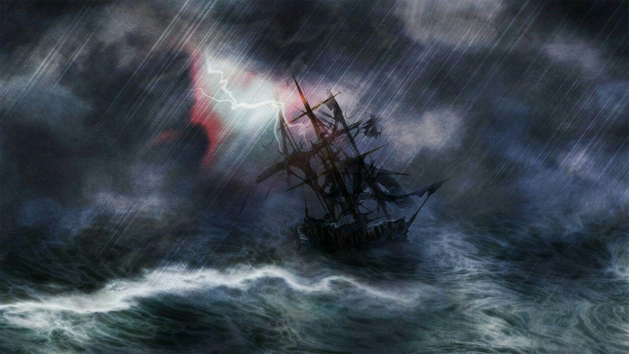 правилам, картинка парусник во время шторма сейчас