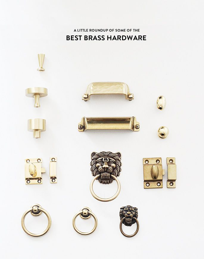 roundup of some of the best brass hardware — Lindsay Stephenson ...