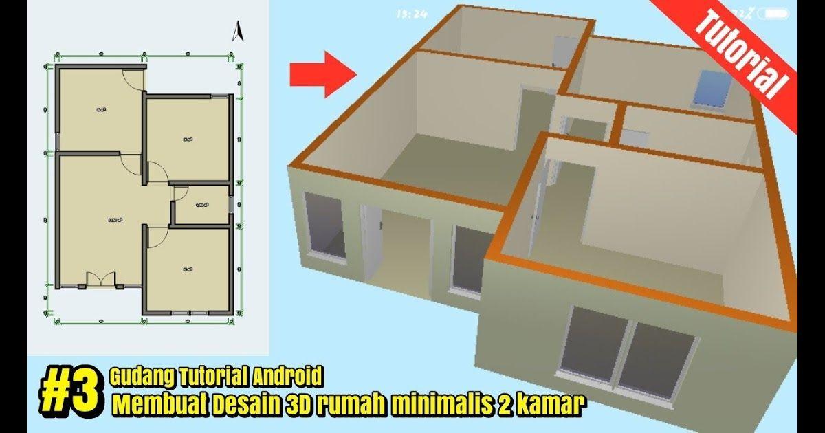 Rumah Minimalis 6x9 2 Kamar Arsitek Rumahan Rekomendasi Gambar Denah Rumah  Minimalis 2 Kamar Tidur Ide Denah Rumah Mini… Di 2020 | Rumah Minimalis,  Desain, Desain Rumah