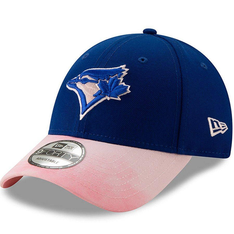 88cc0c89 Toronto Blue Jays New Era 2019 Mother's Day 9FORTY Adjustable Hat ...