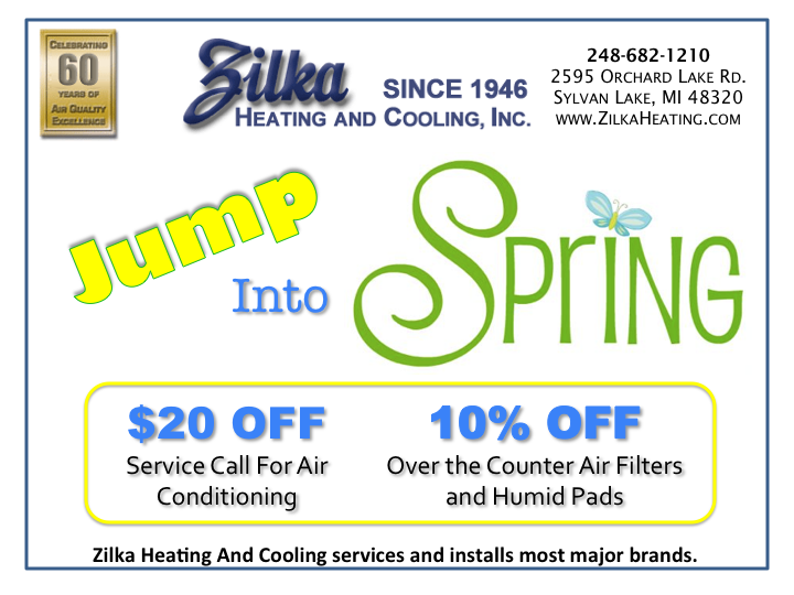 Jump Into Spring Get 20 00 Off A Service Call For Air