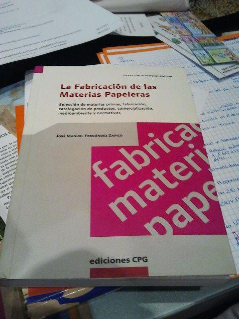 Diseño cubierta - Fabricación materias papeleras Zapico