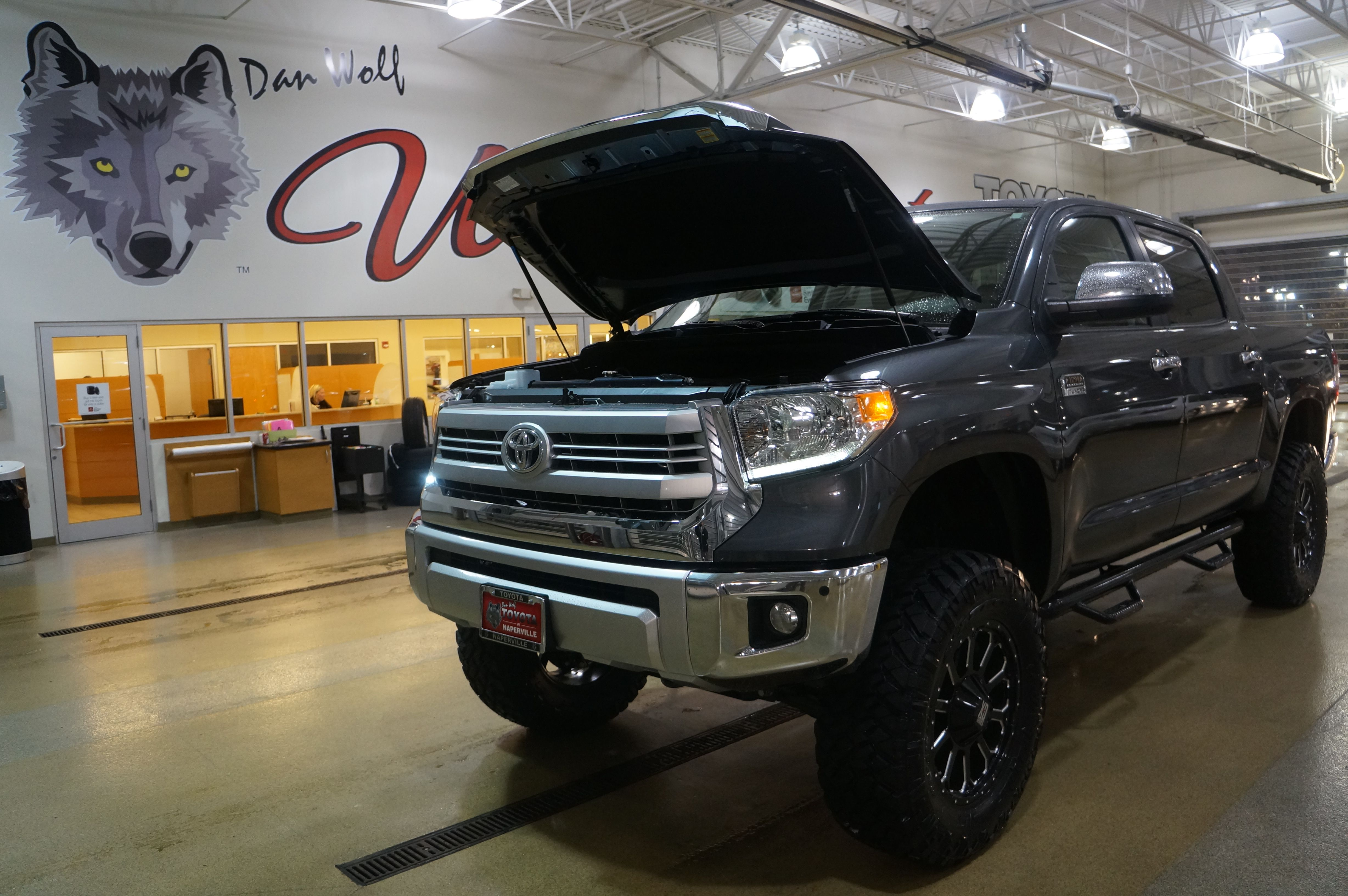 2014 Toyota Tundra 1794 Edition with lift kit custom