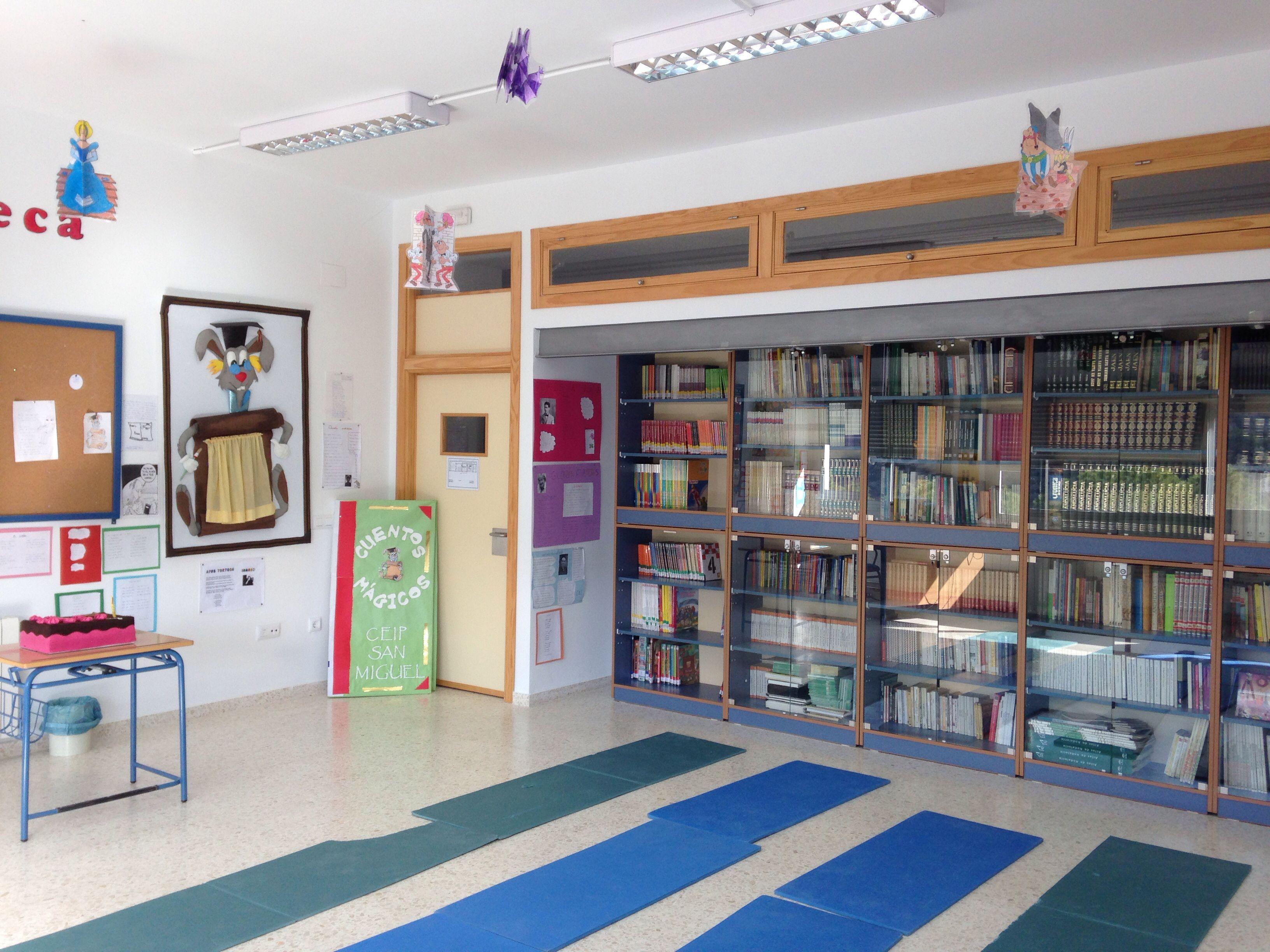 Bibloteca CEIP San Miguel Noguerones