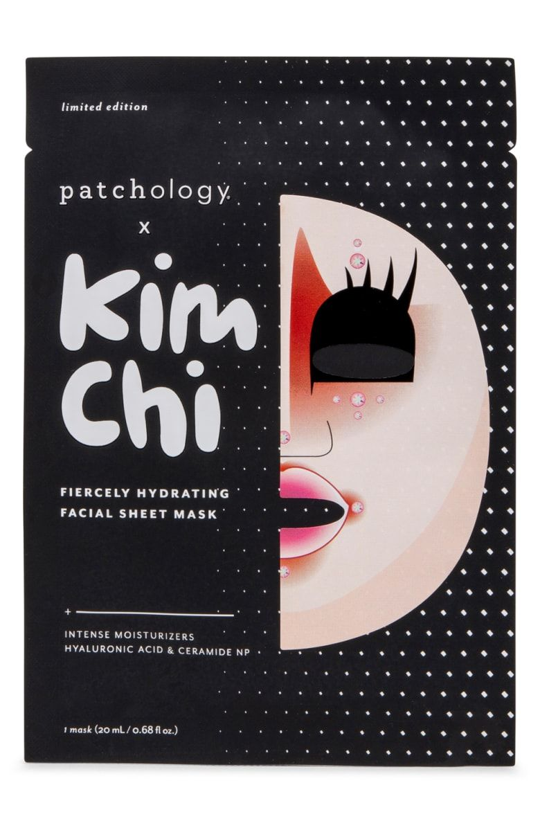 Patchology x kim chi fiercely hydrating facial sheet mask limited