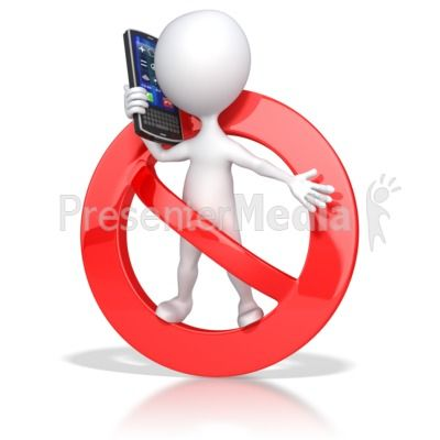 No Cell Phone Clip Art | No Cell Phone Use Presentation ...