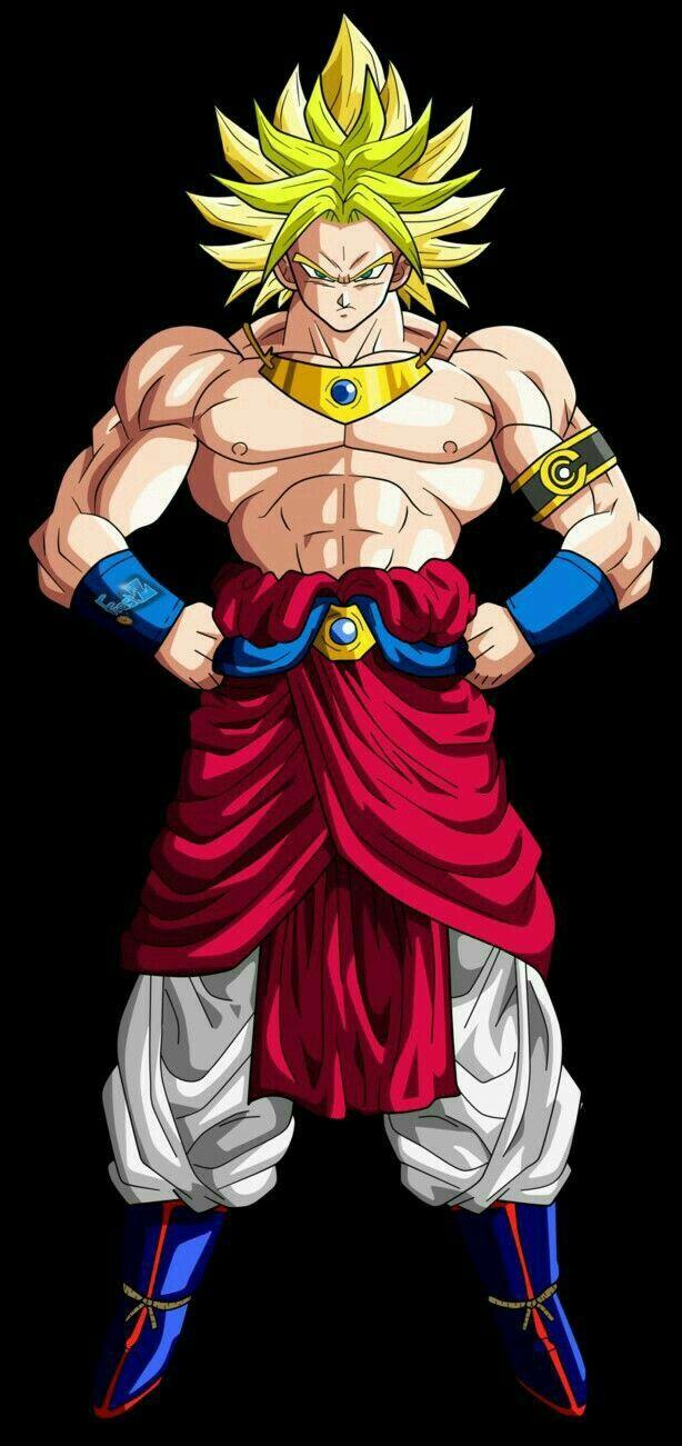 Broly Y Goku Fusion Personajes De Dragon Ball Personajes De Goku Dibujos Animados