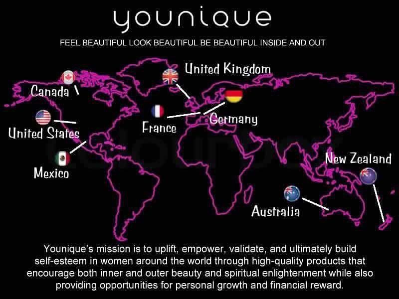 Younique Is In 8 Markets Here S The Updated Map Where Do You