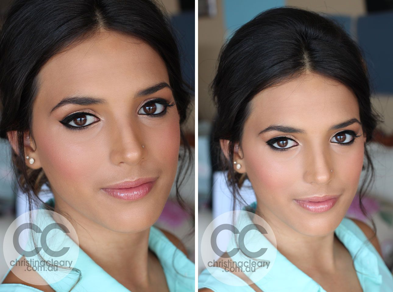 wedding makeup for brunettes - Google Search | Aaron and Jackie ...