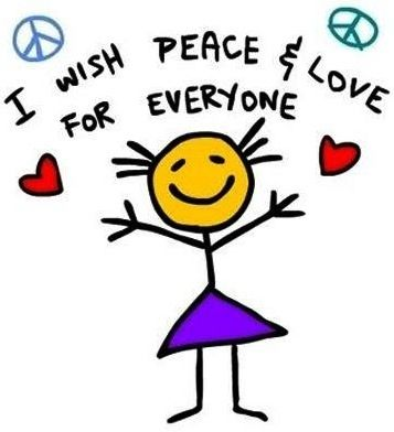 Wishing Peace And Love To Everyone Quote Via Living Life At Www Custom Quotes About Peace And Love