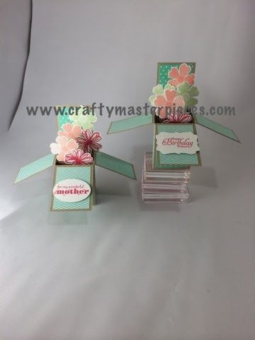 Crafty Masterpieces: Card in a box!